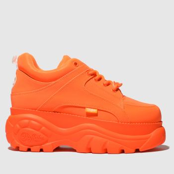 Buffalo London Orange Classic Low Womens Trainers