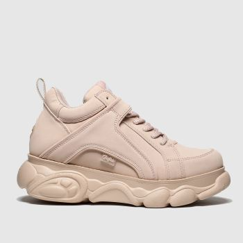 Buffalo London Pale Pink Corin Womens Trainers