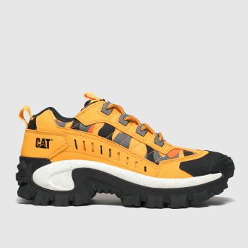 Cat-footwear Yellow Intruder Womens Trainers