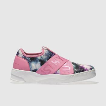Hype Pink Space Cup Womens Trainers