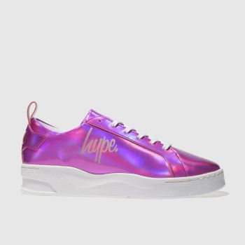 Hype Pink Hologram Reef Womens Trainers