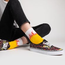 Vans Authentic Mash Up Flames 1