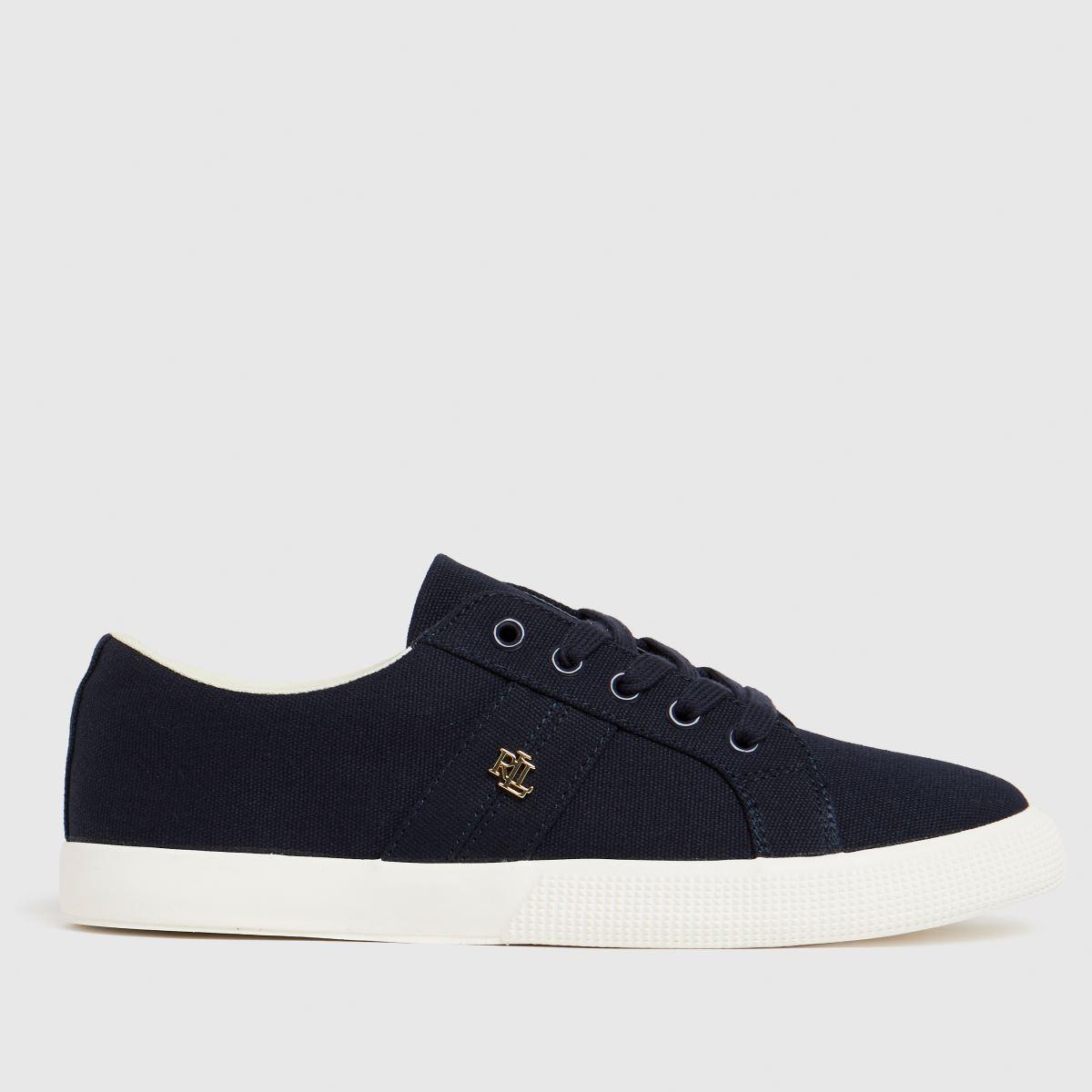 LAUREN RALPH LAUREN Navy Janson Ii Sneaker Trainers