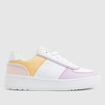 schuh Multi Magnet Lace Up Womens Trainers