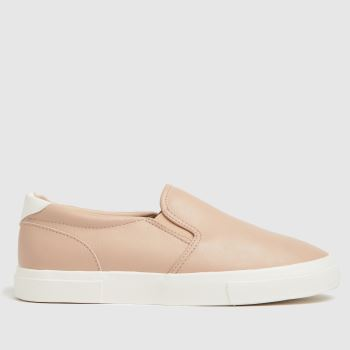 schuh Natural Mallory Slip On Womens Trainers