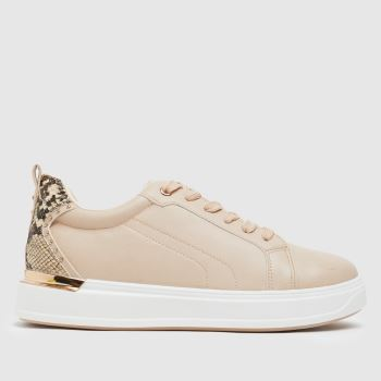 schuh Natural Noa Lace Up Trainers