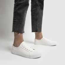 schuh Mia Canvas Lace Up 1
