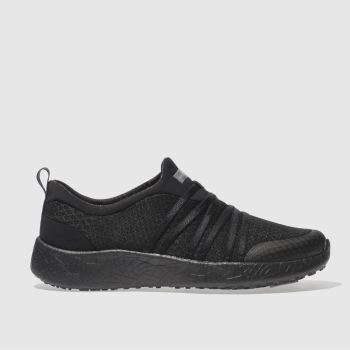 Skechers Black Burst Very Daring Trainers