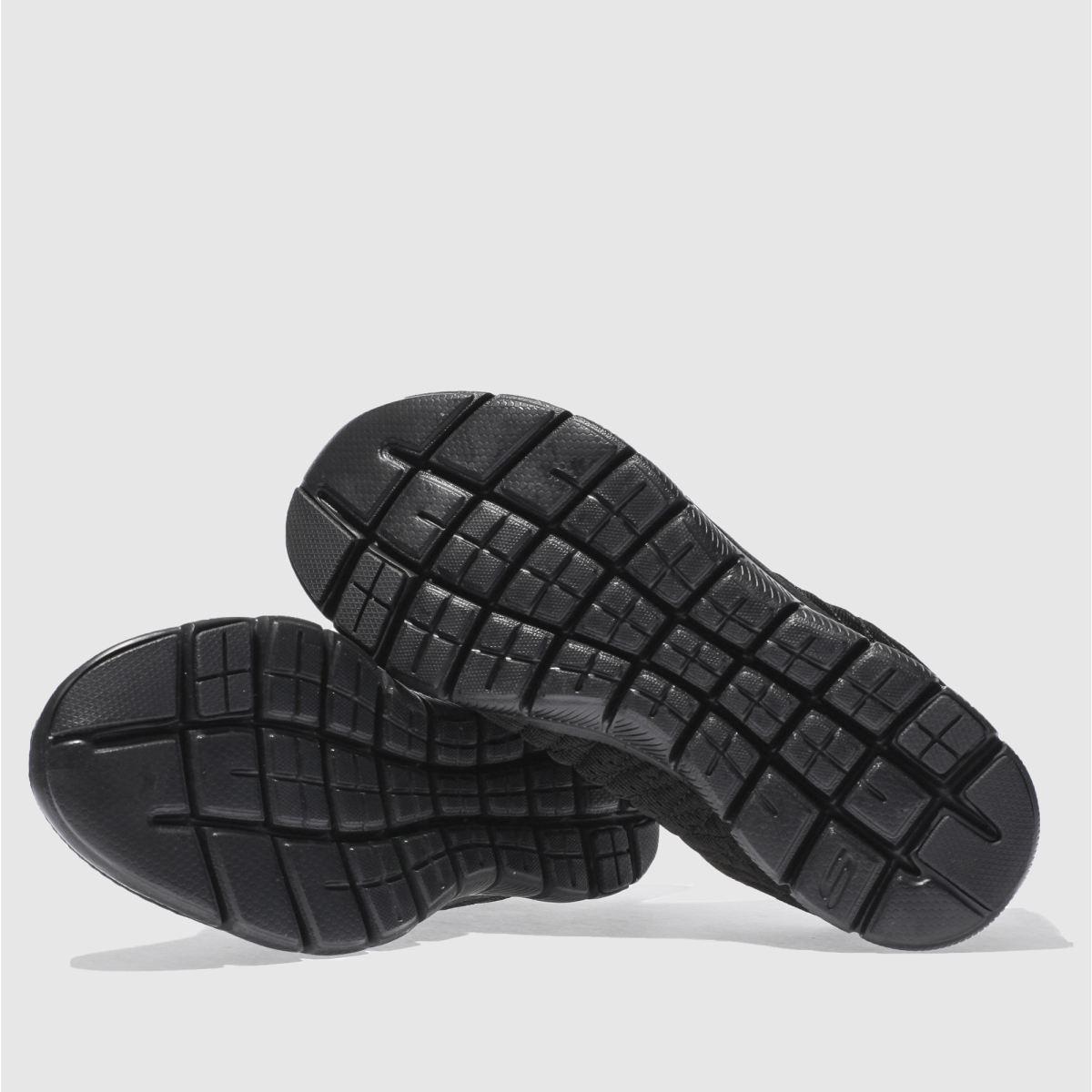 Damen 2.0 Schwarz skechers Flex Appeal 2.0 Damen Break Free Sneaker | schuh Gute Qualität beliebte Schuhe 2264e6