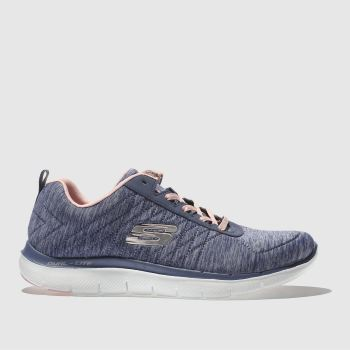 Skechers Navy Flex Appeal 2.0 Womens Trainers