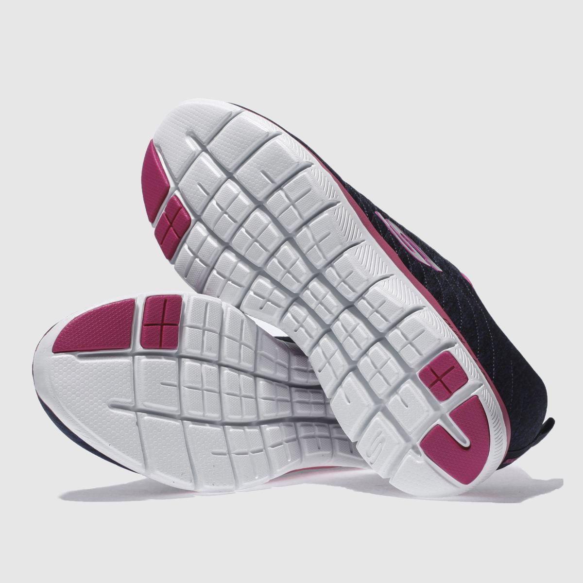 Damen Marineblau-weiß Gute skechers Flex Appeal 2-0 Sneaker | schuh Gute Marineblau-weiß Qualität beliebte Schuhe 7d5c10