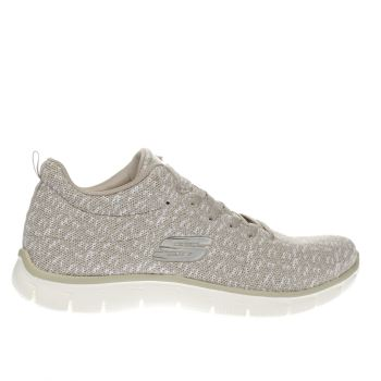 SKECHERS NATURAL EMPIRE CONNECTIONS TRAINERS