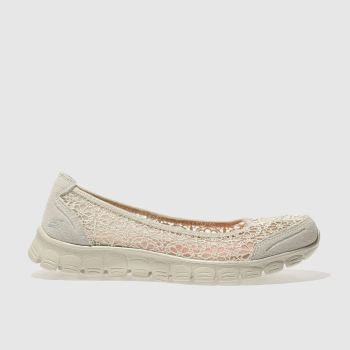 Skechers Natural Ez Flex 3.0 Majesty Womens Trainers