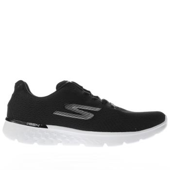 Skechers Black Go Run 400 Sole Womens Trainers