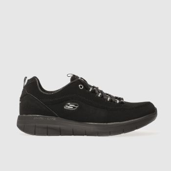Skechers Black Skech Synergy 2.0 Side Step Womens Trainers