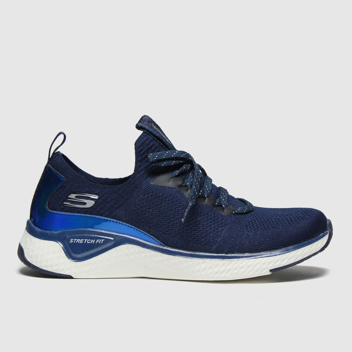 SKECHERS Navy Solar Fuse Gravity Exper Trainers