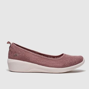 Skechers Lilac Arya Airy Days Womens Trainers#