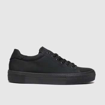 schuh Black Amaze Womens Trainers