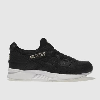 Asics Black Gel-Lyte V Womens Trainers