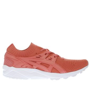 Asics Orange Gel-Kayano Trainer Knit Womens Trainers