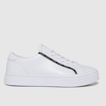 GUESS White Pardie Womens Trainers