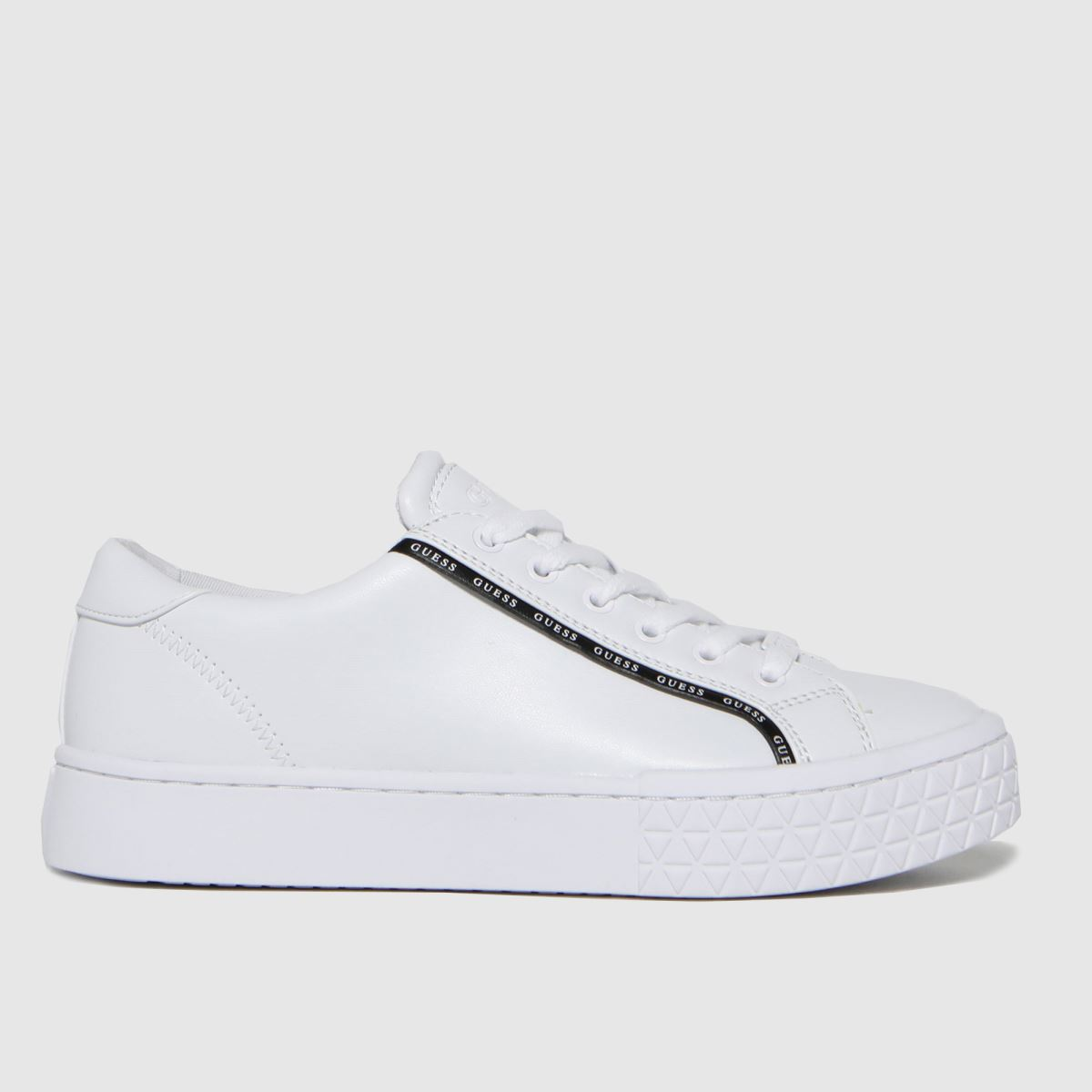 GUESS White Pardie Trainers