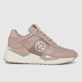 GUESS Natural Tesha Womens Trainers