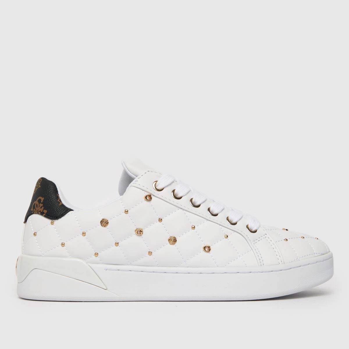 GUESS White Reea Trainer Trainers