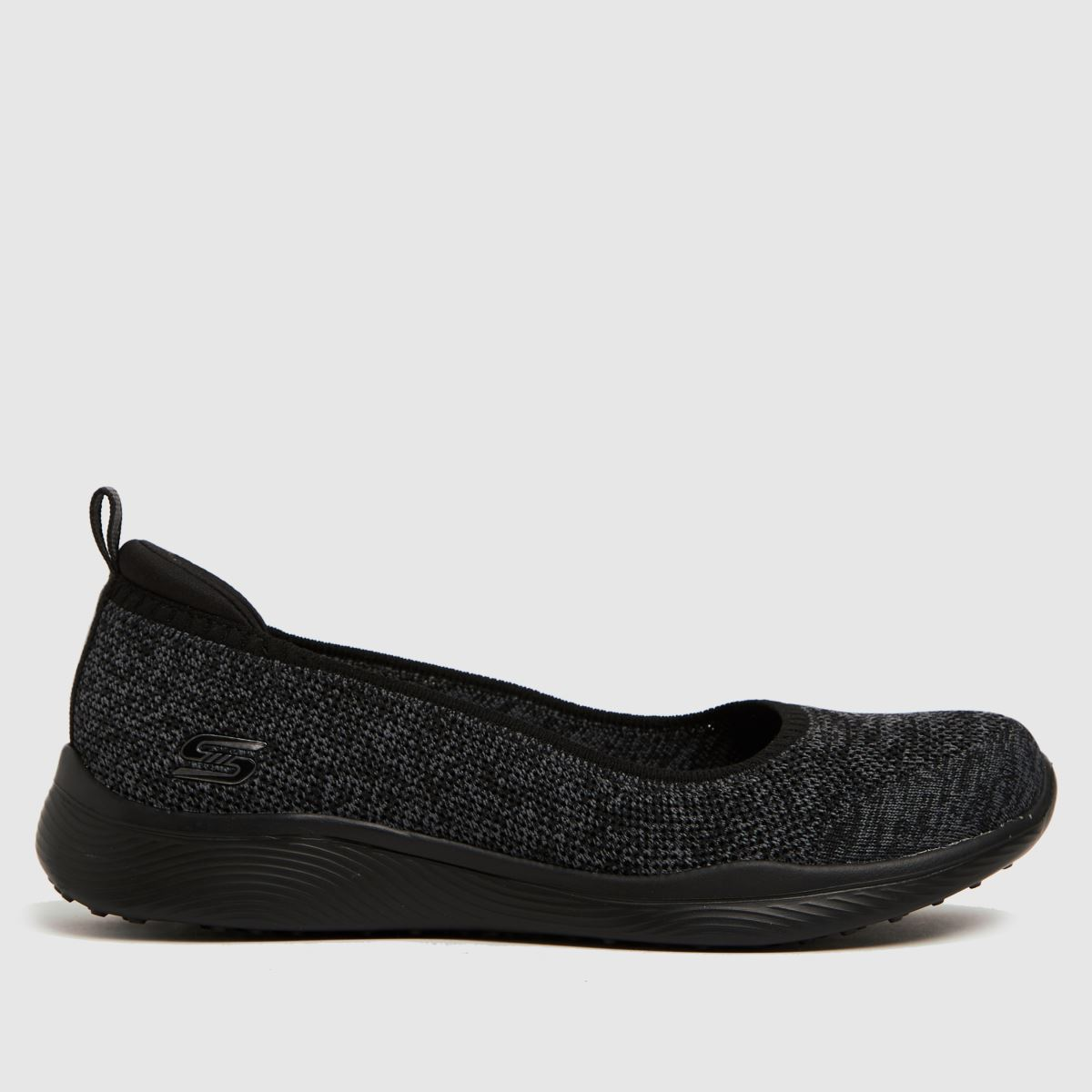 SKECHERS Black Microburst 2.0 Iconic Trainers