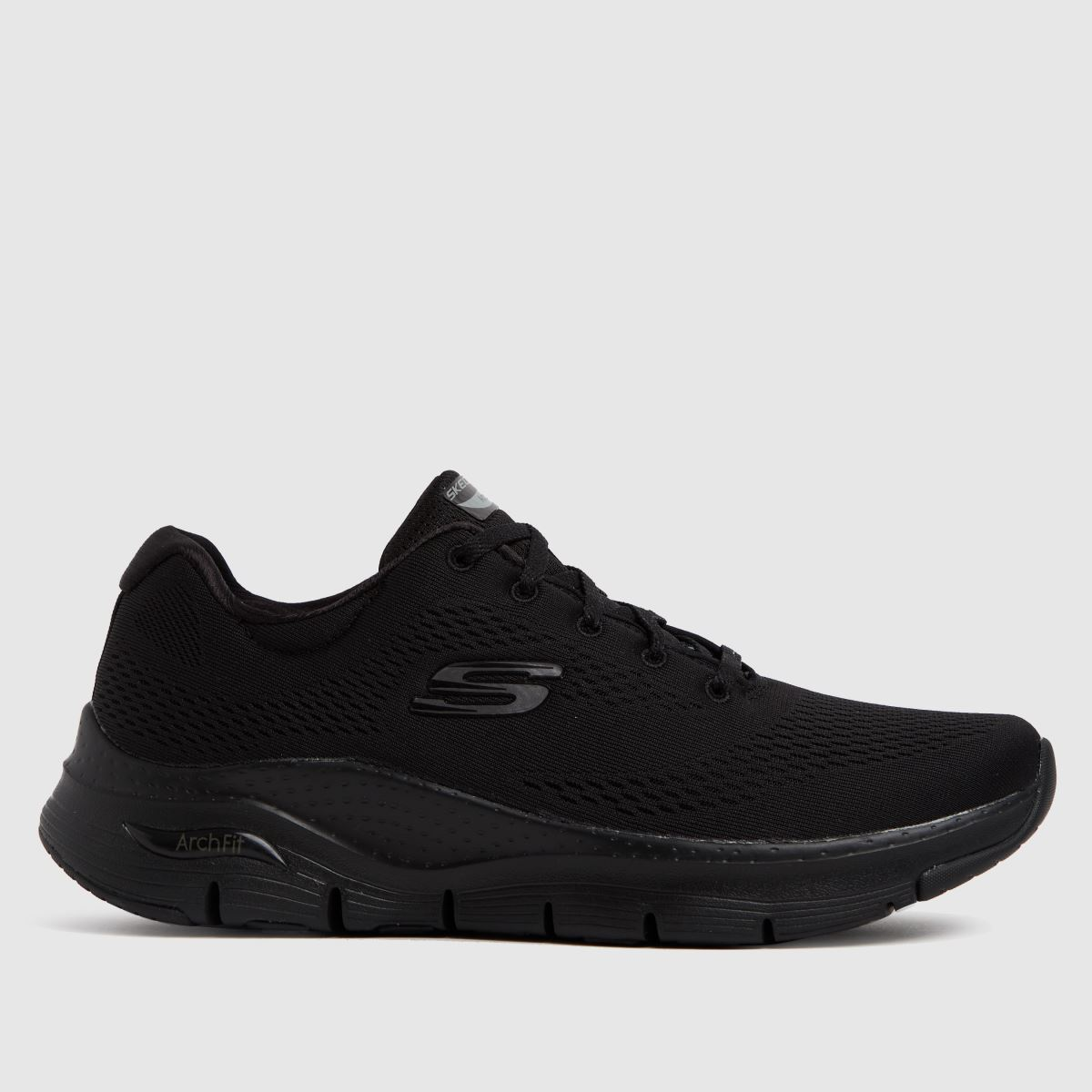 SKECHERS Black Arch Fit Big Appeal Trainers