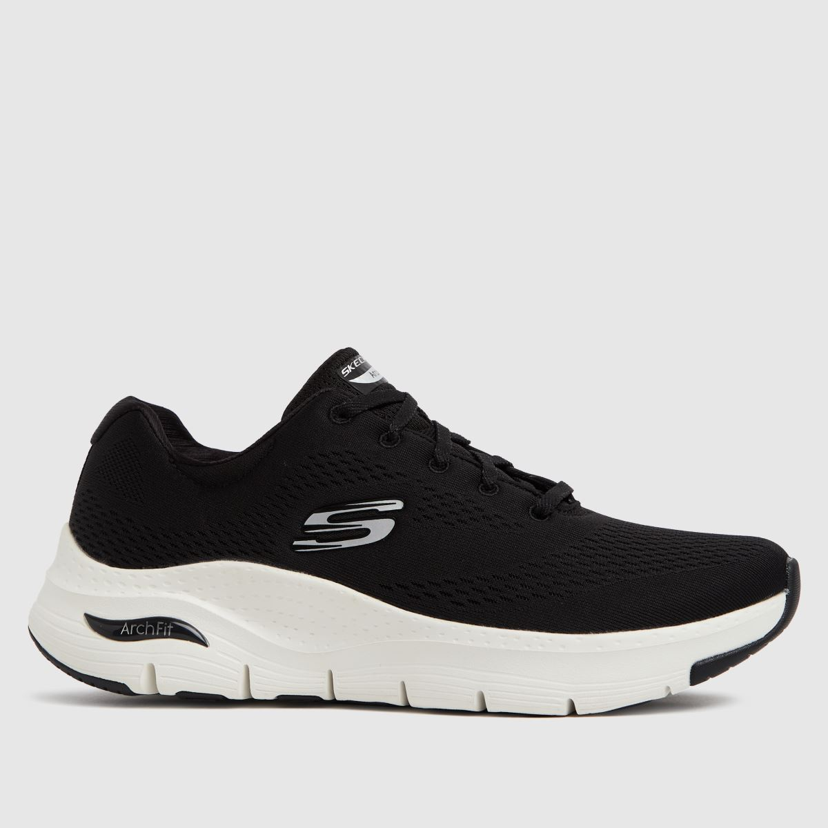 SKECHERS Black & White Arch Fit Big Appeal Trainers