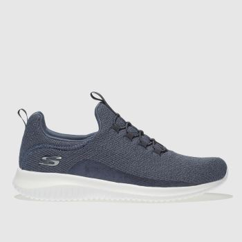 Skechers Navy Ultra Flex Womens Trainers