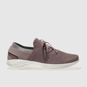 Skechers Mauve You Spirit Womens Trainers