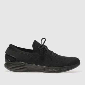 Skechers Black You Spirit Womens Trainers