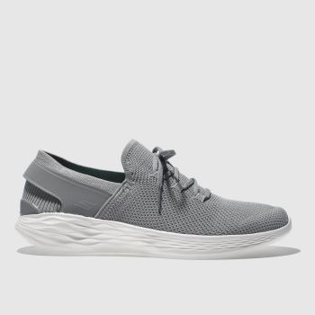 Skechers Grey YOU SPIRIT Trainers