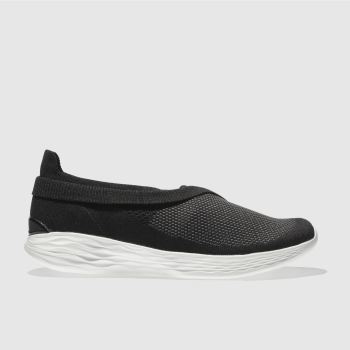 Skechers Black You Luxe Womens Trainers