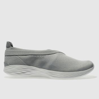 Skechers Grey You Luxe Womens Trainers