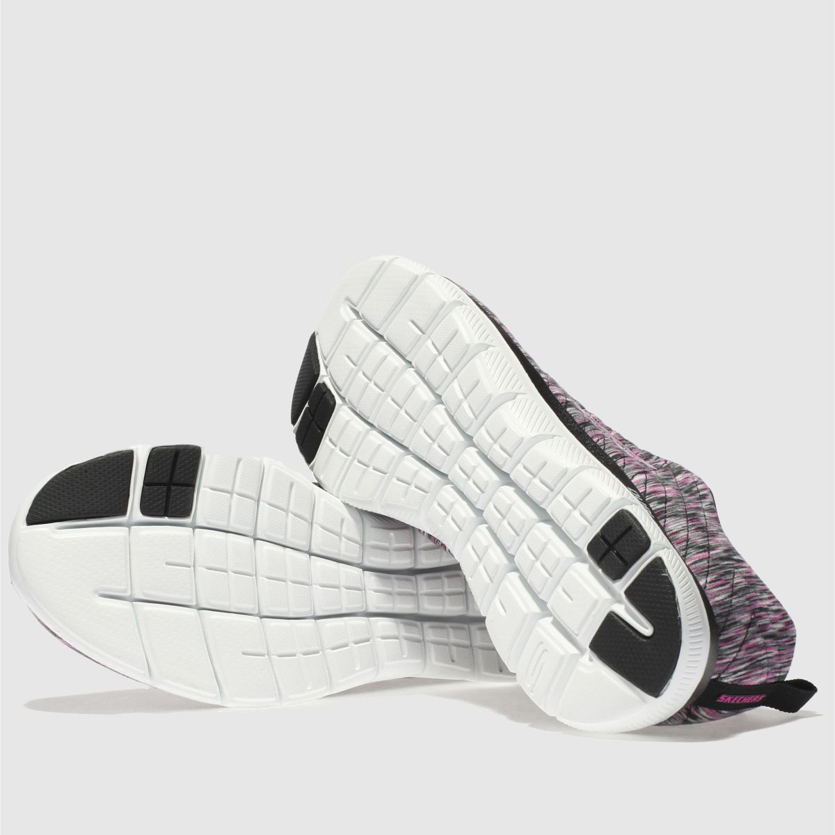 Damen 2.0 Schwarz-pink skechers Flex Appeal 2.0 Damen Reflections Sneaker | schuh Gute Qualität beliebte Schuhe 9248a5