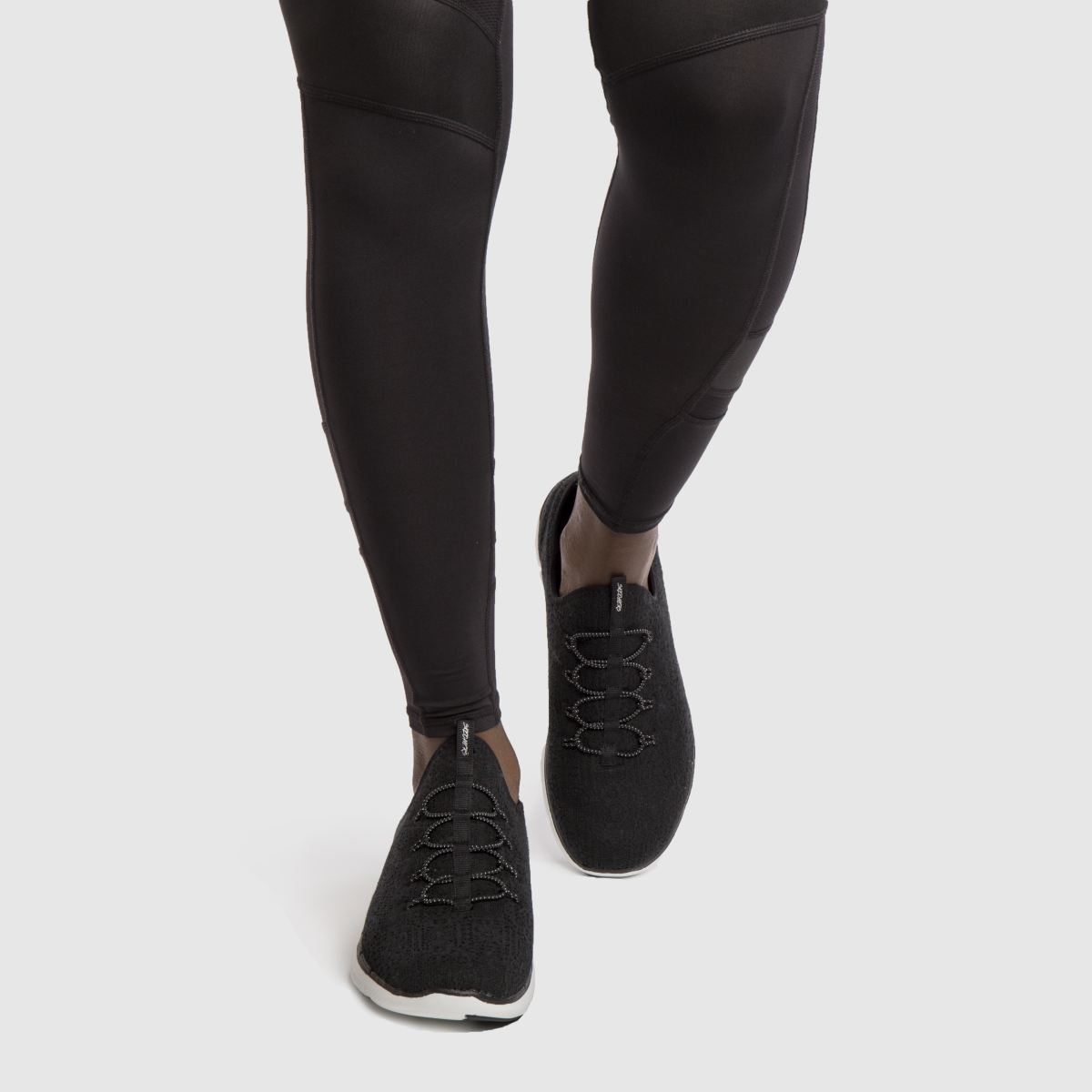 Damen Schwarz-weiß skechers Flex Appeal 2.0 Clear Cut Sneaker | schuh Gute Qualität beliebte Schuhe
