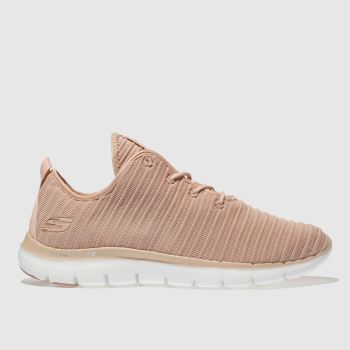 Skechers Pink FLEX APPEAL 2.0 ESTATES Trainers