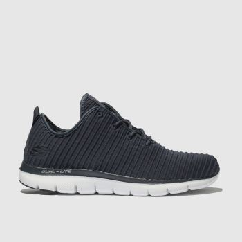 Skechers Navy Flex Appeal 2.0 Estates Womens Trainers