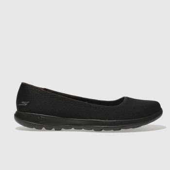 Skechers Black GO WALK LITE Trainers