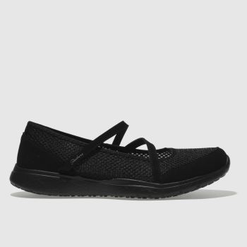 Skechers Black Microburst Womens Trainers