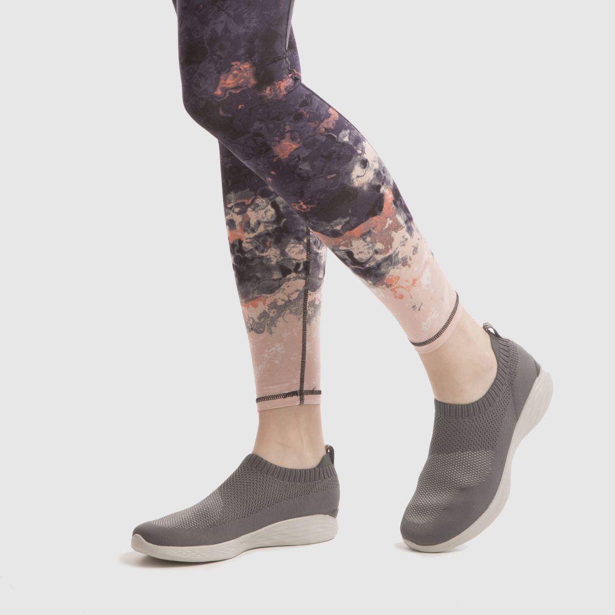 Damen schuh Dunkelgrau skechers You Pure Sneaker | schuh Damen Gute Qualität beliebte Schuhe 63ed28