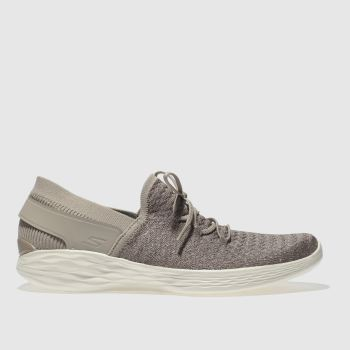 SKECHERS BEIGE YOU BEGINNING TRAINERS