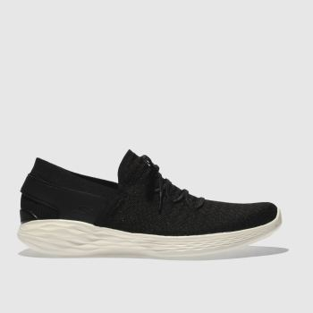 Skechers Black You Beginning Womens Trainers