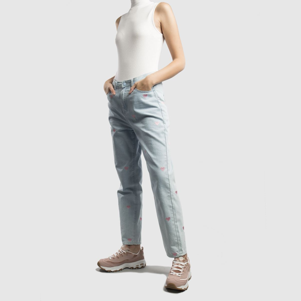 Damen Rosa skechers Dlites Sneaker | Schuhe schuh Gute Qualität beliebte Schuhe | 005b9a