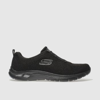 Skechers Black Empire Dlux Womens Trainers