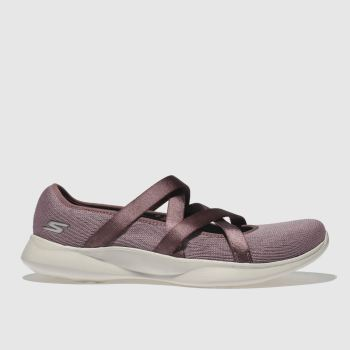 Skechers Lilac You Serene Slip Womens Trainers
