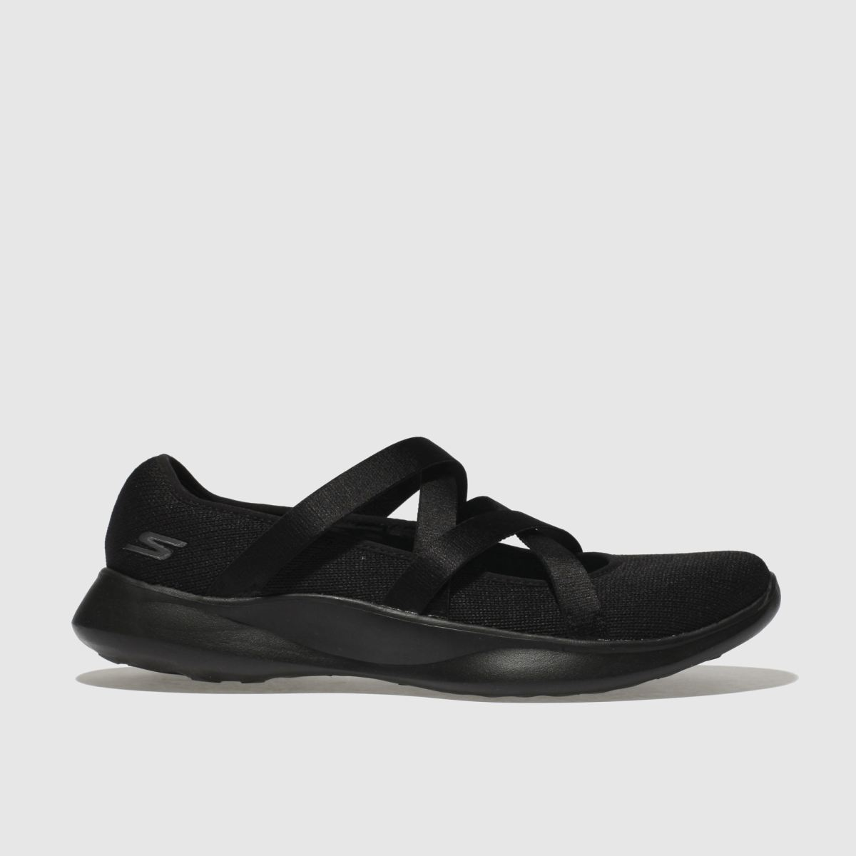Skechers Black You Serene Slip Trainers